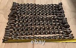 10 USA Snow Tire Chains 19-19.25 Repair Replacement Cross Link Chain Section