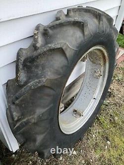 11.2 X 24 farm tractor tire on Allis Chalmers Farmall 2 tractor Tires 4 Lug rims