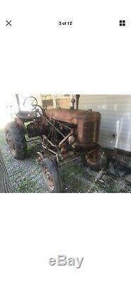 1948 Farmall Tractor Super A 1948 International Farmall Super A New Tires Cub
