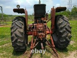 1965 farmall 806, tractor, diesel, farm equipment, 18 speed transmission tires