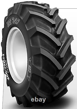 1 New Bkt Rt747 Radial Tractor Lug R-4 460-24 Tires 4607024 460 70 24