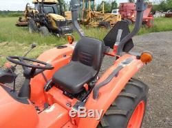 2016 Kubota L2501 Tractor, 4WD, LA525 Loader, Hydro, R1 Tires, 186 Hours
