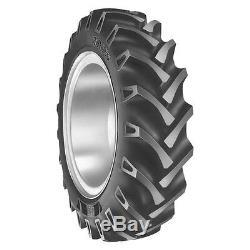 2 11.2x28 8 Ply Oliver John DEERE R 1 Bar Lug Tube Type Farm Ag Tractor Tires