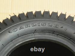 2 20x8.00-10 Carlisle Turf Saver Tractor Farm Atv Lawn Mower Tires 20x8-10