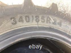 2 340/85R24 340-85-24 R1 TUBELESS STARMAXX Farm Tractor Tires