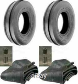 2- 6.00-16,600X16,600-16 8 PLY RIB DISC, WAGON LRD Farm Tractor Tires withTubes