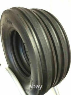 2- 6.00-16,600X16,600-16 THREE RIB DISC, WAGON LRD Farm Tractor Tires withTubes