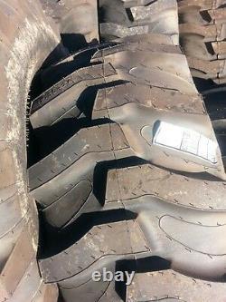 2 New 17.5Lx24 R4 Kubota Farm Tractor Tires withWheels