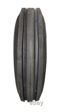 2 New 6.00-16 10PR HORSESHOE Heavy Duty F2 3-Rib AG Front Farm Tractor Tires