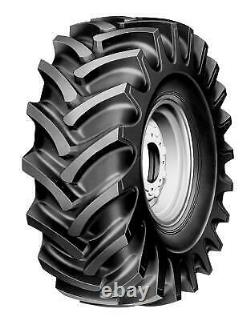 2 New Armour Tractor Rear R-1 12.4-24 Tires 124024 12.4 1 24