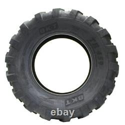 2 New Bkt Tr459 Industrial Tractor Lug R-4 18.4-24 Tires 184024 18.4 1 24