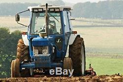 2 New Carlisle Farm F-2 3 Rib Tractor Tires Only 6.00-16 600-16 6PR LRC