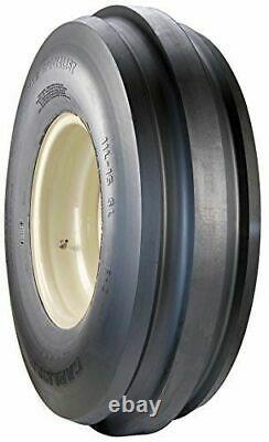 2 New Carlisle Farm F-2 3 Rib Tractor Tires Only 9.5L-15 9.5L 15 8PR LRD
