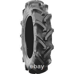 2 New Firestone Farm Service Lug-M 5-14 Load 4 Ply (TT) Tractor Tires