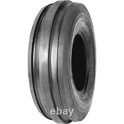 2 New Galaxy Front Farm F-2 7.5-18 Load 8 Ply (TT) Tractor Tires