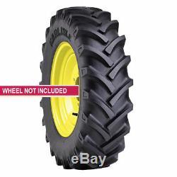 2 New Tires 12.4 28 Carlisle R-1 Tractor CSL 24 6 Ply Tube Type 12.4x28 Farm ATD