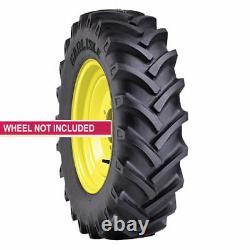 2 New Tires & 2 Tubes 13.6 38 Carlisle R-1 Tractor CSL24 6 Ply 13.6x38 Farm ATD