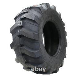 2 New Titan Industrial Tractor Lug R-4 19.5l-24 Tires 195024 19.5 1 24