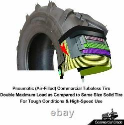 (2-PK-Set) NEW 23x10.50-12 8Ply Ditch Tiller Trencher AG Farm Tractor Lawn tire