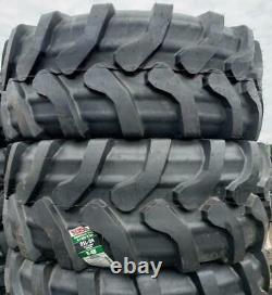(2-Tires) 21L24 R4 rear backhoe tractor farm tire 12 PR Samson / Advance 2124