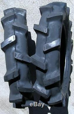 4.00-12 TIRE for Compact Tractor Farm AG Ground Drive Equipment R-1 Lug 4ply