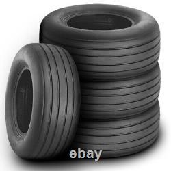 4 New Firestone Farm Implement 8.5L-14 Load 6 Ply (TT) Tractor Tires