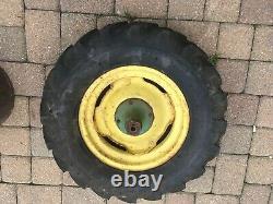 6.70-15 Goodyear Tractor Implement Farm Tire/Rims Hay Rake 4 PLY Used B12506B
