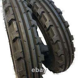7.50-16 (2 TIRES + 2 TUBES) 8 PLY ROAD CREW KNK-30 Farm Tractor 7.50x16