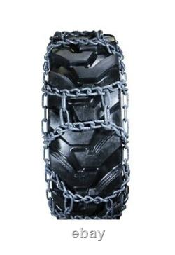 9.5mm 12.4-24 HEAVY DUTY NAME BRAND LACLEDE SNOW ICE MUD TRACTOR TIRE CHAINS