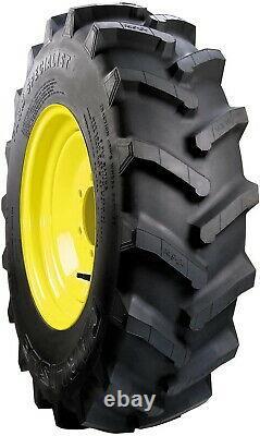 Carlisle Farm Specialist Tractor Tire 8-16 Hard Rubber Tires Multi-angle NEW