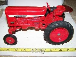 ERTL International Harvester 544 Toy Farm Tractor Diecast Rubber Tires NICE