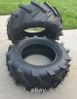 Farm Tractor Mower 23X8.50-12 / 2 Ply Carlisle Power Trac Tires Set of 2 New