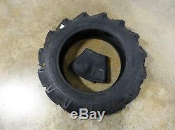New 8.3-20 BKT TR-144 Farm Tractor Lug R-1 Tire WITH Tube 6 ply