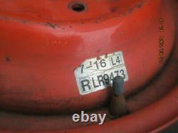 RLR9473 7-16 Bridgestone Farm Service Lug Turf Tread Tire WITH wheel / Rim 16 L4