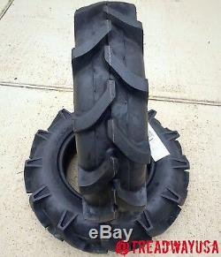 SET OF TWO New 8-16 Farm Tractor Lug R-1 Tires 8x16 8-16