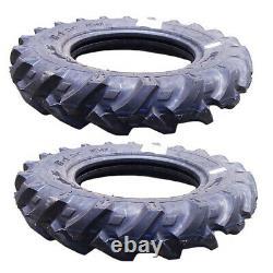 Set Of 2 Lugged 600 X 16 Tires Fits John Deere Farm Tractors