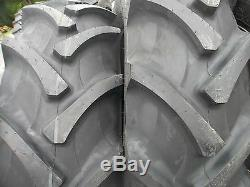 TWO 18.4X30 8 ply R 1 Tube Type Farm Tractor Tires Fit FORD DEERE