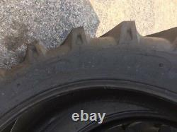 TWO 460/85R38 460-85-38 R1 TUBELESS STARMAXX Farm Tractor Tires