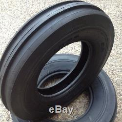 TWO 6.00-16,600X16,600-16,6.00X16 Rib Imp DISC, WAGON Farm Tractor Tires withTubes
