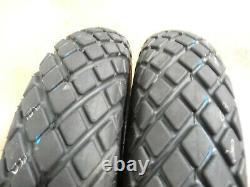 TWO 6-12 Bridgestone Farm Service Diamond Turf Tread Tires withTubes NEW TAKEOFFS