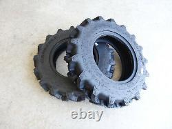 TWO 7-14 Carlisle Farm Specialist R-1 6 ply Tractor Tires 570000 Compact 4WD's