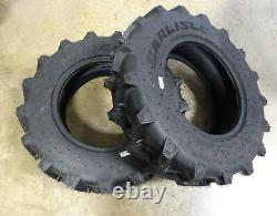 TWO 8-16 Carlisle Farm Specialist R-1 6 ply Tractor Tires Compact 4wd's 570002