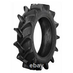 TWO 8.3X24 8.3-24 CUB FARMALL EIGHT ply Farm Tractor Tires with Tubes
