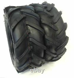 TWO New 16x6.50-8 Ditch Witch Trencher Farm Tractor LUG Tire 16 650 8