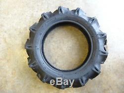 TWO New 5-14 Bridgestone Farm Service Lug M Tractor Tires WITH Tubes 344443