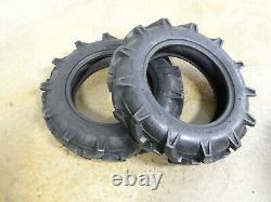 TWO New 7-16 CropMax Farm-Torque Compact 4wd Tractor Tires 6 ply Tubeless