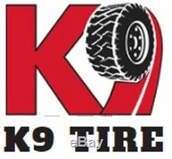 TWO New Tires & 2 Tubes 12.4 28 K9 Ag Tractor Rear R1 8 Ply 12.4x28 Farm DOB
