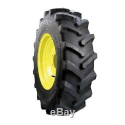 Two 6-12 Carlisle Farm Specialist Compact Garden Tractor Lug Tires 570030